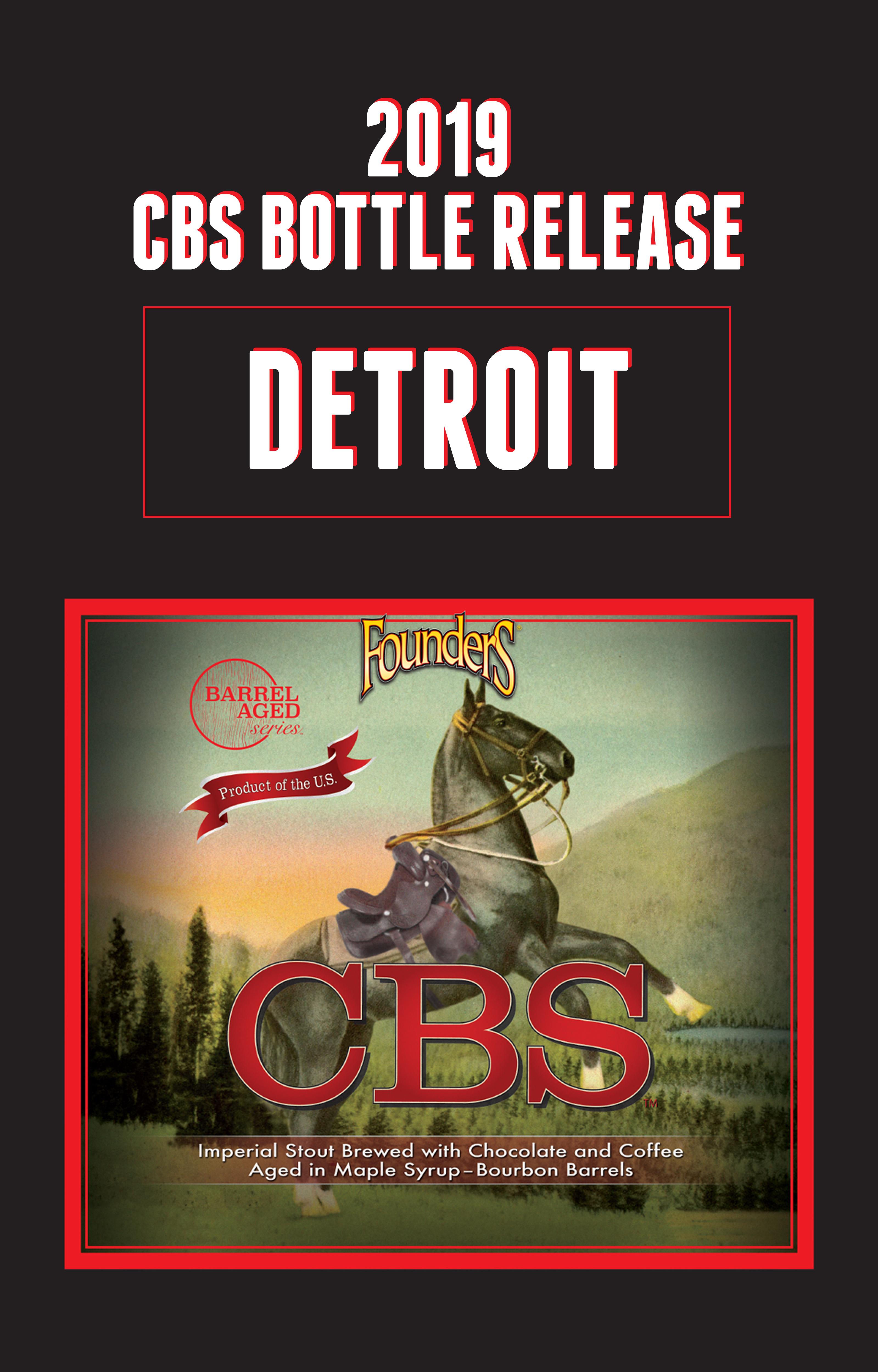 2019 CBS Bottle Release Detroit Founders CBS