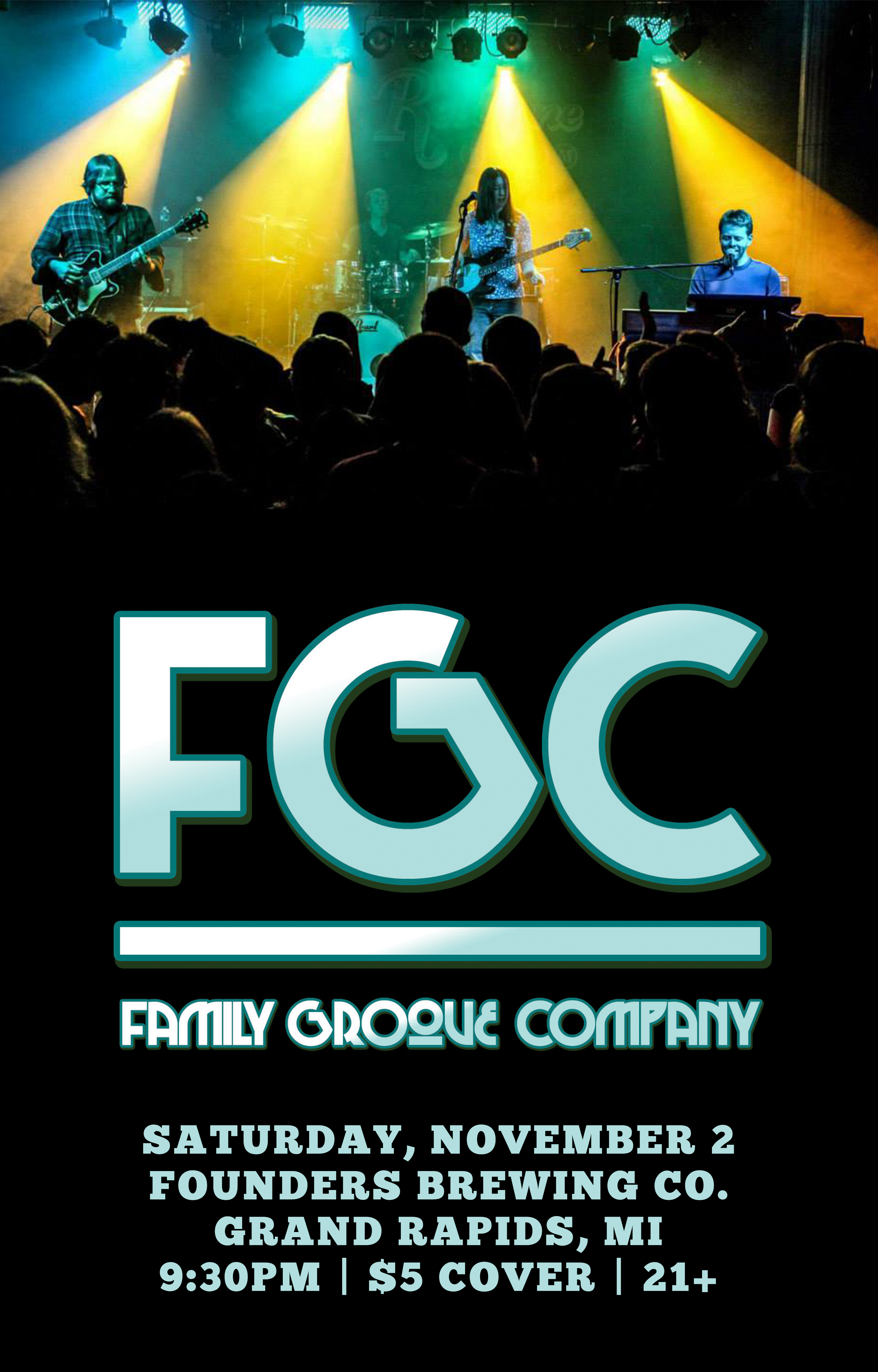 Family Groove Company event poster