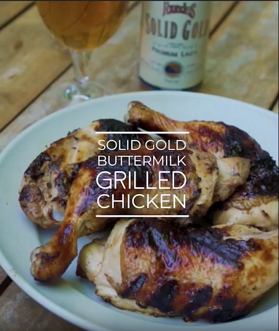 Solid Gold Buttermilk Grilled Chicken