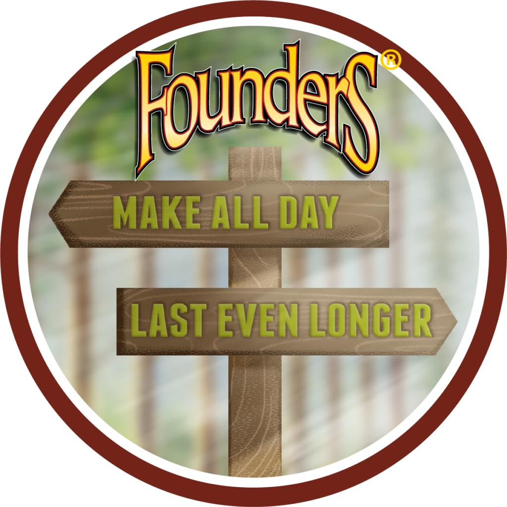 Founders Make All Day Last Even Longer logo