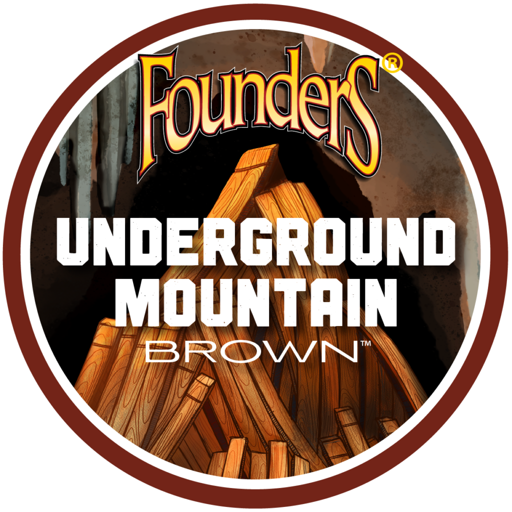 Founders Underground Mountain Brown logo