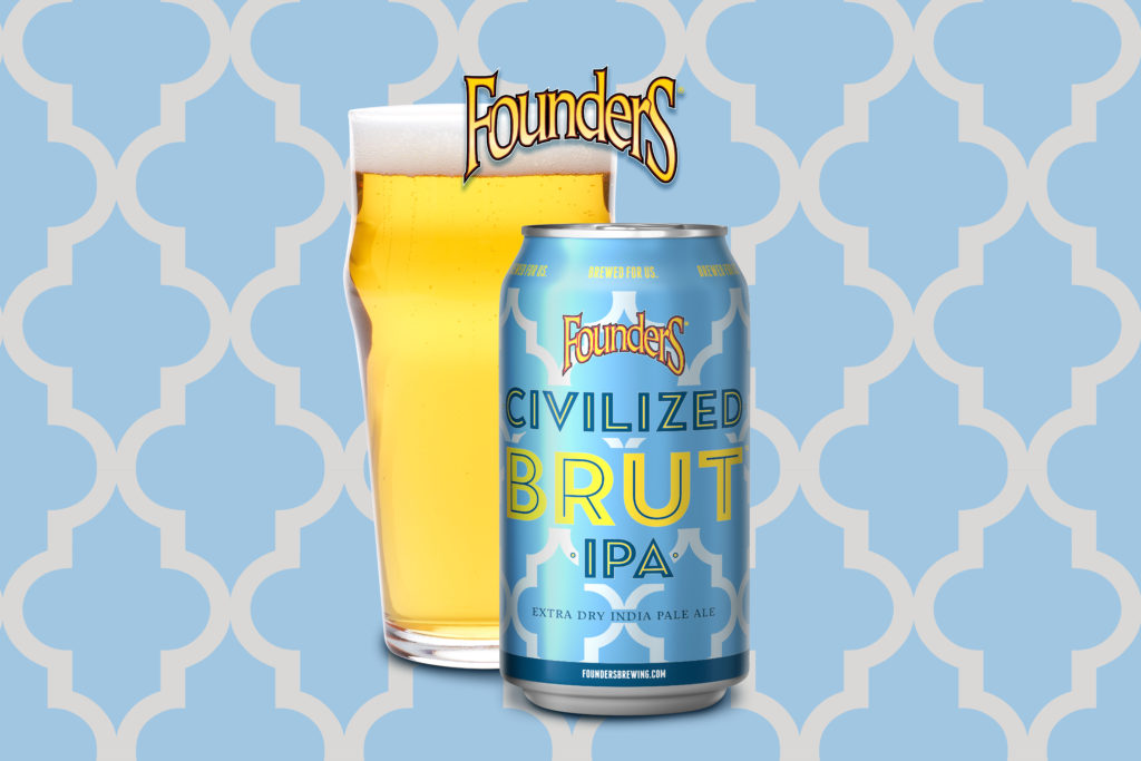 Founders Civilized Brut IPA banner