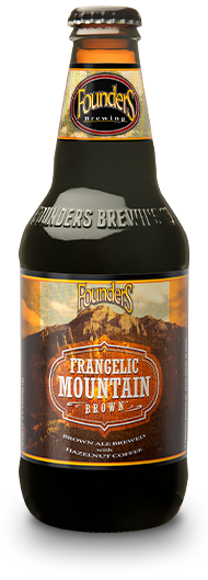 Bottle of Founders Frangelic Mountain Brown