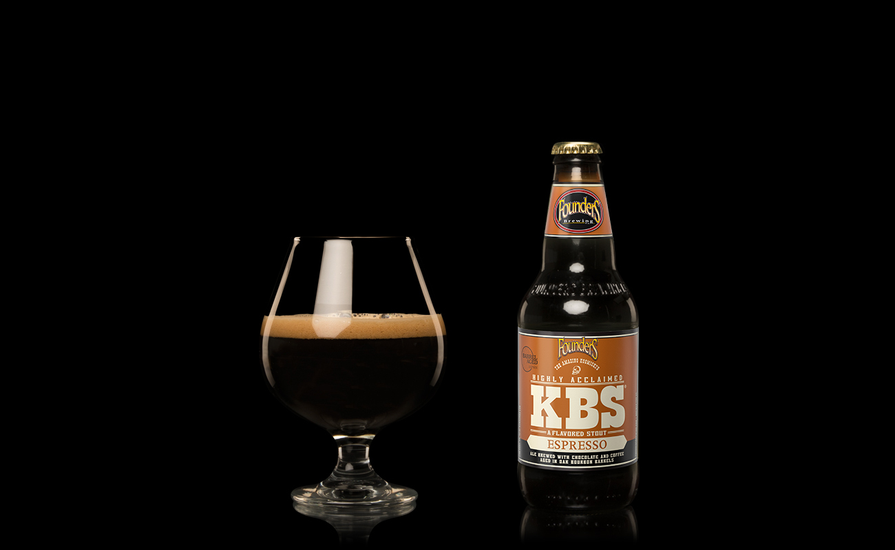 Founders KBS Espresso 4-pack