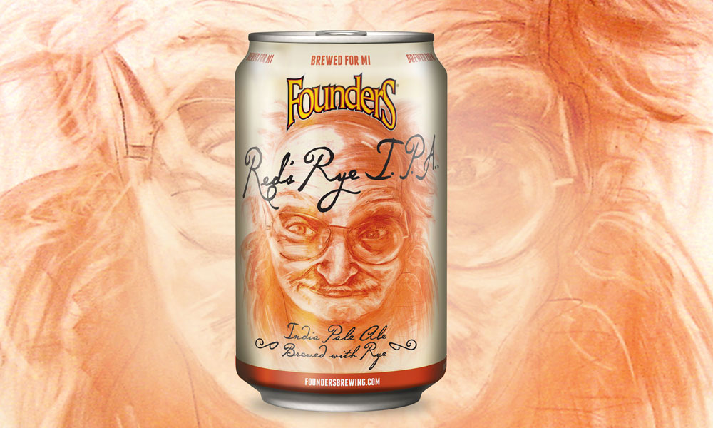 Founders Red's Rye IPA banner