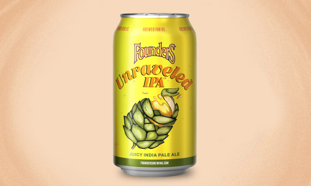 Can of Founders Unraveled IPA