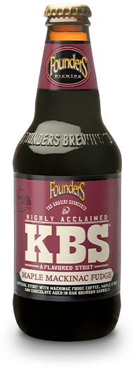 KBS maple mackinac fudge bottle