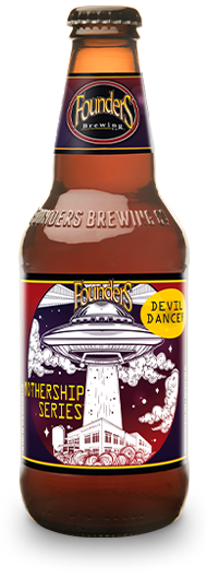 Bottle of Founders Mothership Series Devil Dancer