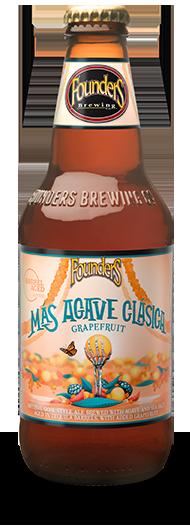 Mas Agave Clasica Grapefruit Bottle
