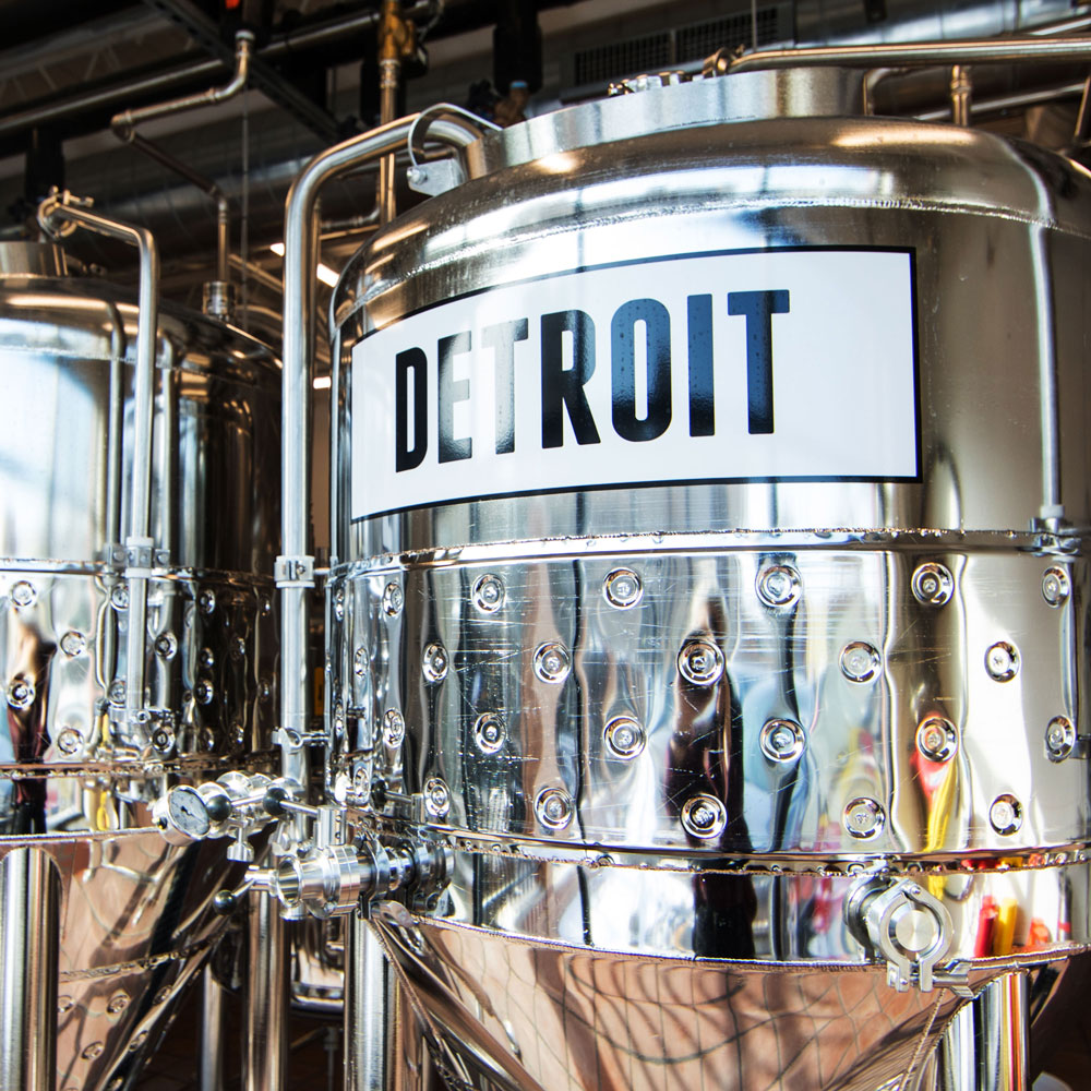 Detroit Founders Brewing Co. beer vat