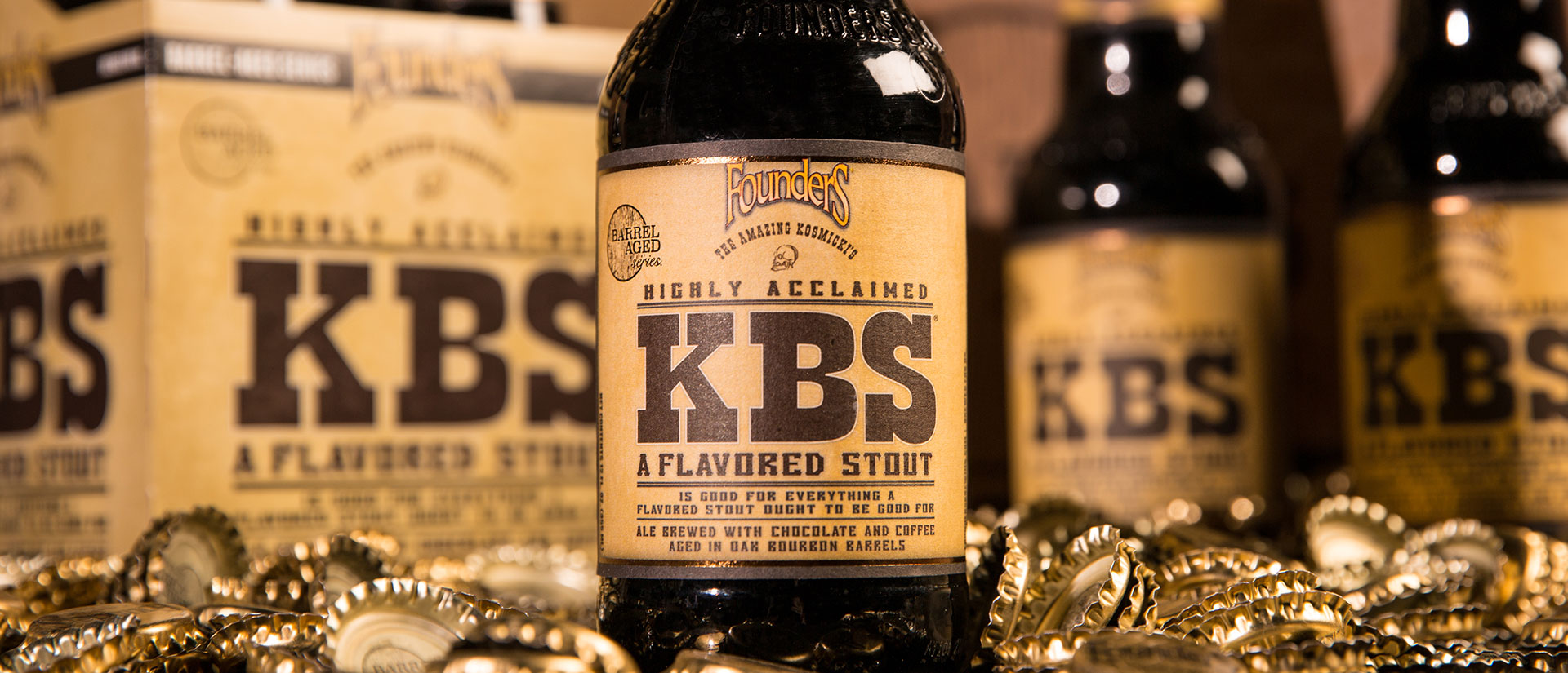 Bottle of Founders KBS