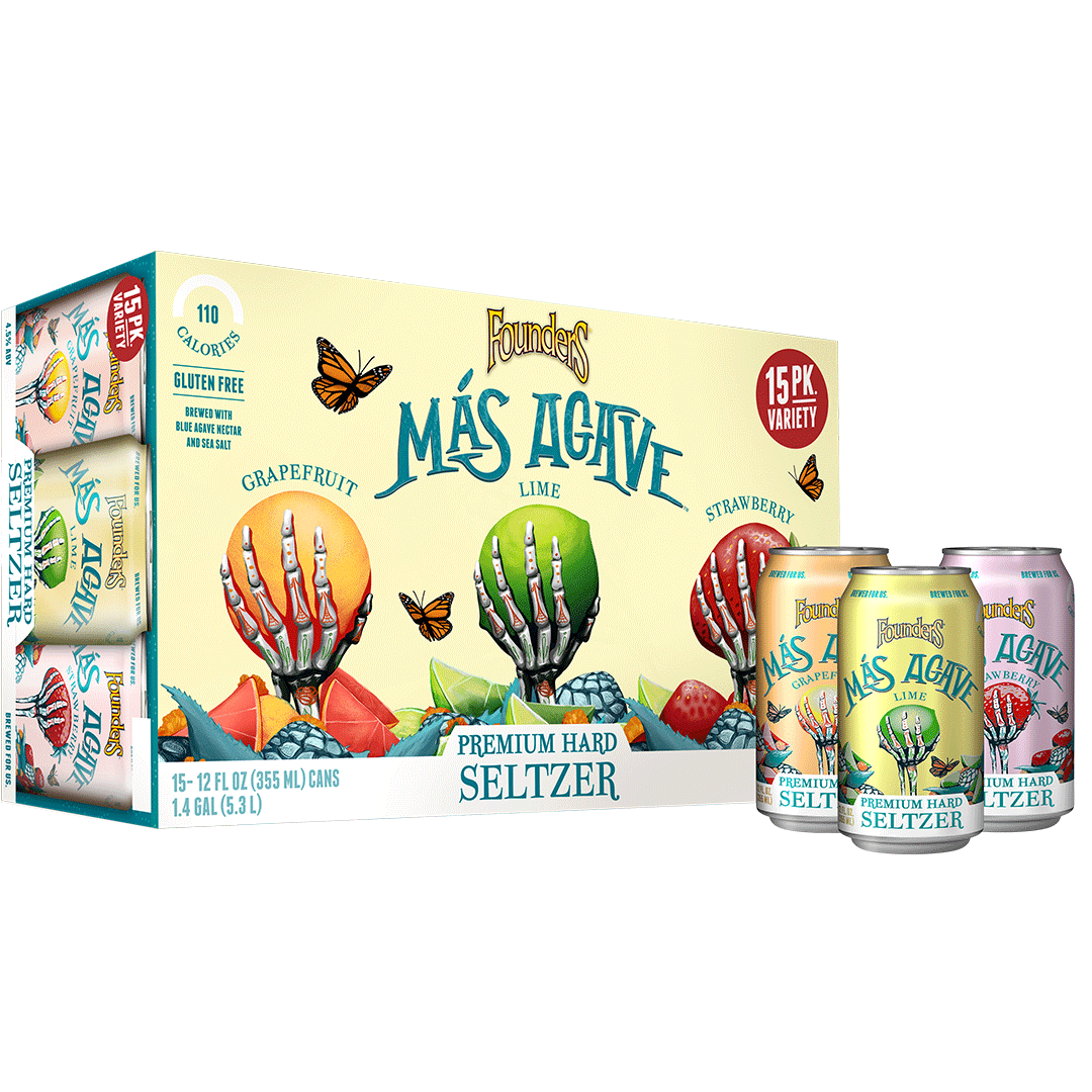 Mas Agave 15-pack with cans
