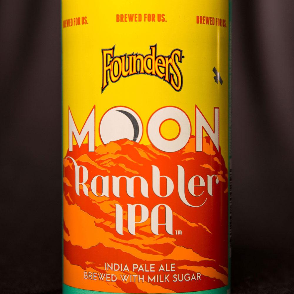 moonrambler close up of can