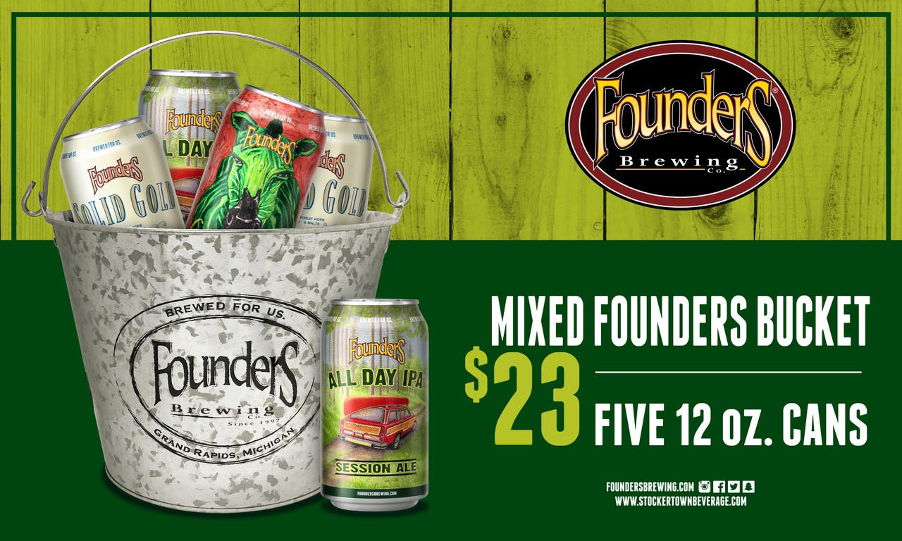 thumbnail Founders Bucket Feature 3 x 5 BANNER