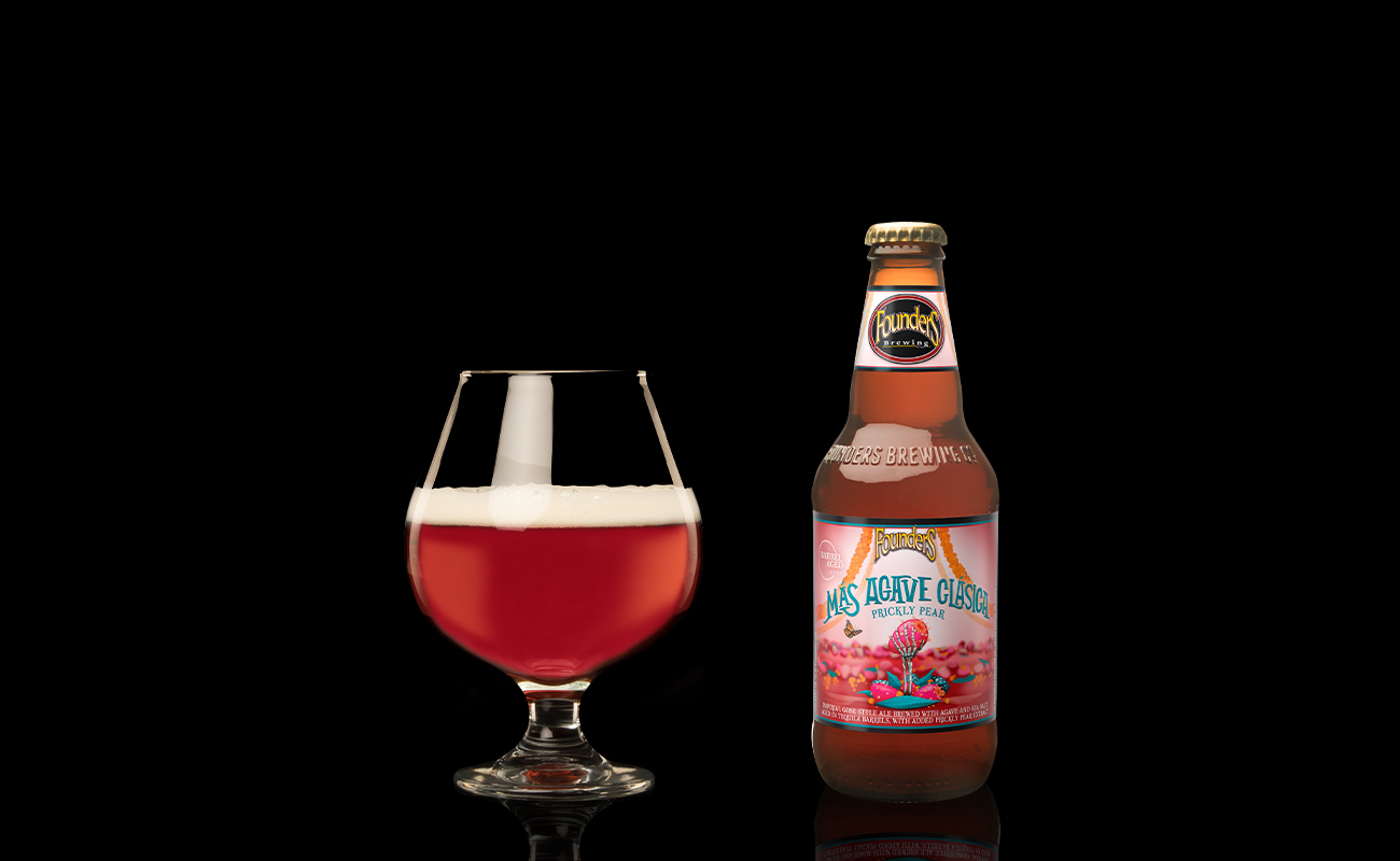 2021 mas agave clasica prickly pear 12oz bottle with snifter