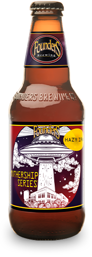 Mothership Series bottle for Hazy IPA