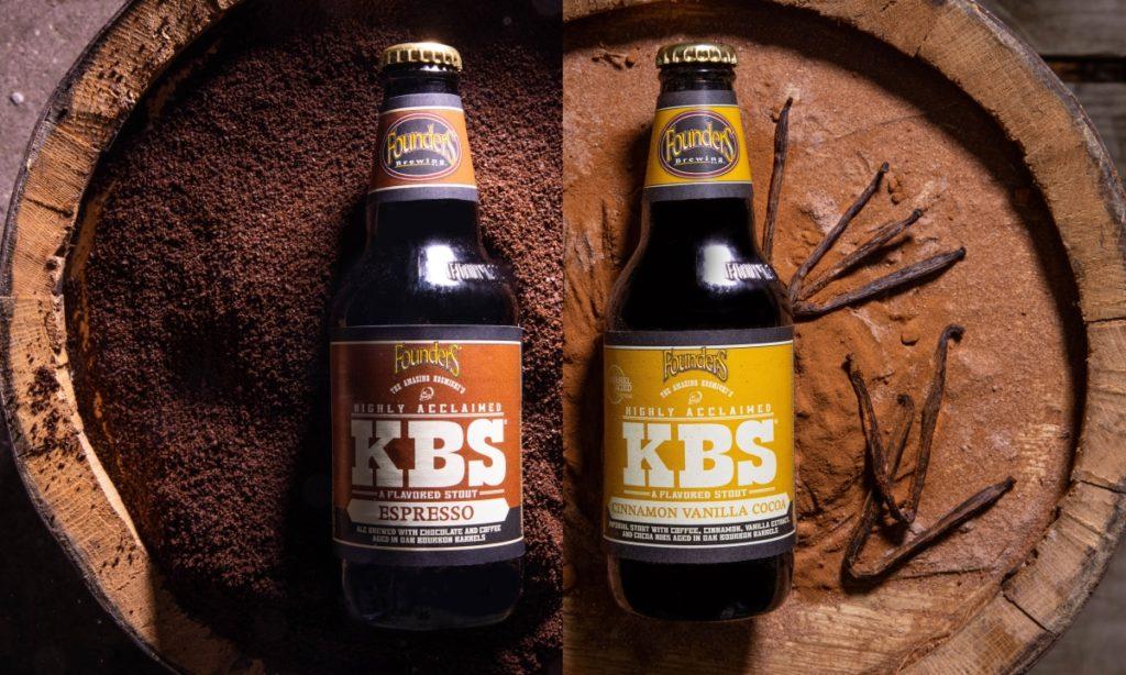 KBS Espresso and KBS Cinnamon Vanilla Cocoa bottles