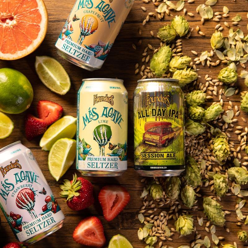 beer vs seltzer ingredients landscape 1