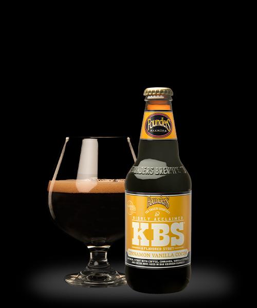 2021 KBS Cinnamon Vanilla Cocoa pour and bottle
